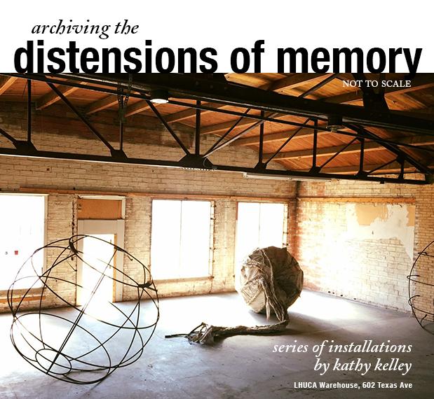 kathryn kelley installation work at LHUCA